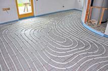 Fußbodenheizung, Neubau und Renovierung